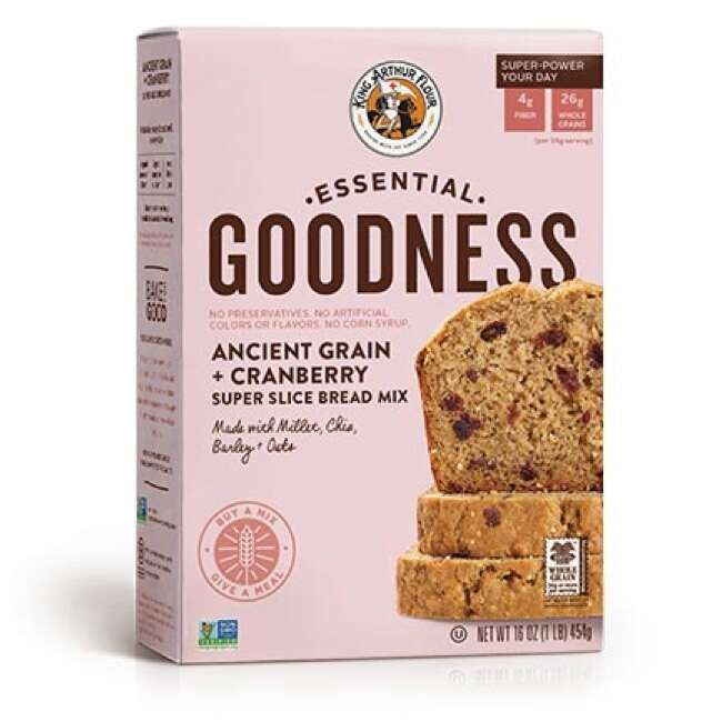 Essential Goodness Ancient Grain + Cranberry Super Slice Bread Mix