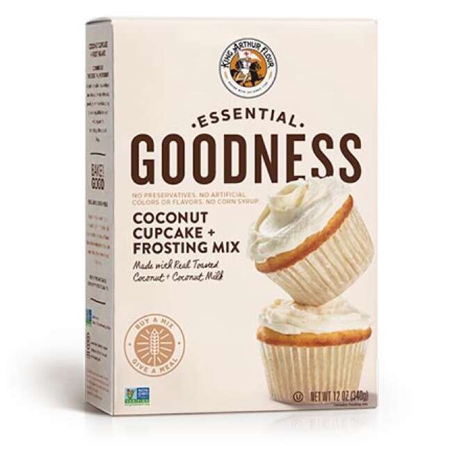 Essential Goodness Coconut Cupcake Mix