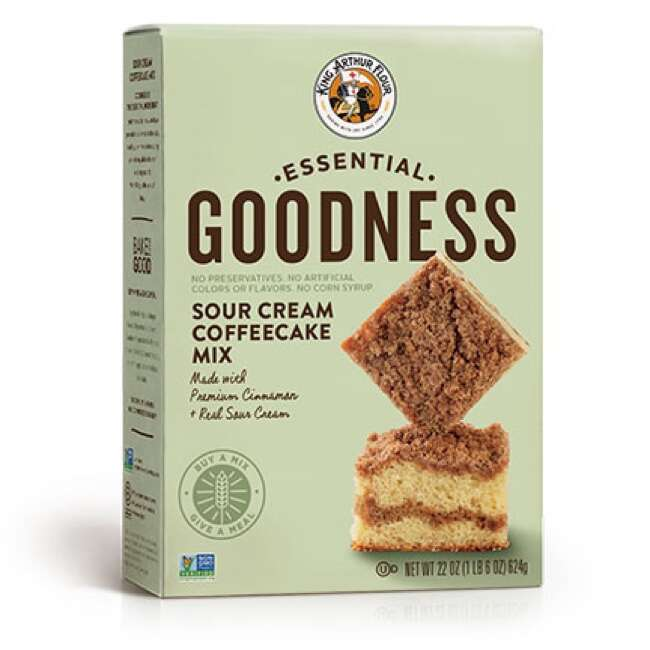Essential Goodness Sour Cream Coffeecake Mix