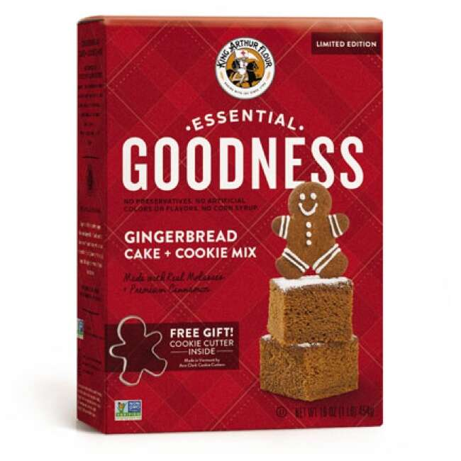 Essential Goodness Gingerbread Cake + Cookie Mix