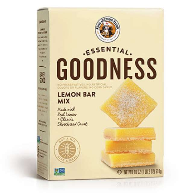 Essential Goodness Lemon Bar Mix