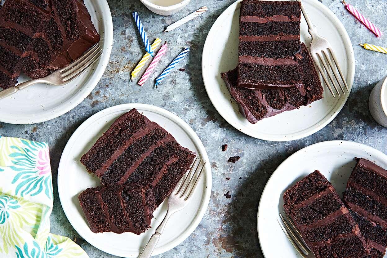 Superb Favorite Fudge Birthday Cake King Arthur Flour Funny Birthday Cards Online Necthendildamsfinfo