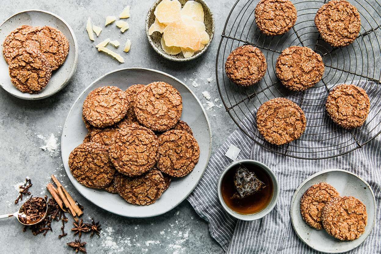 Ginger Spice Cookies King Arthur Flour