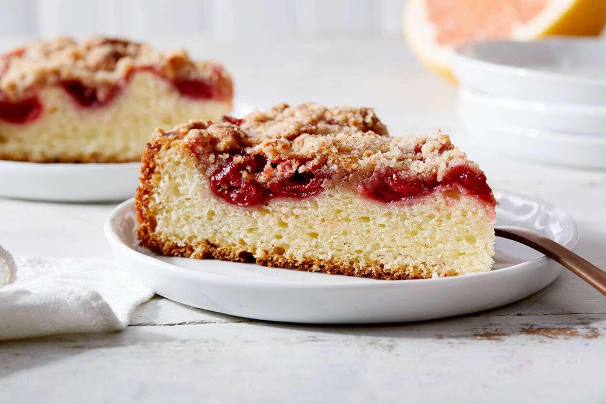 Cherry Almond Coffeecake King Arthur Flour