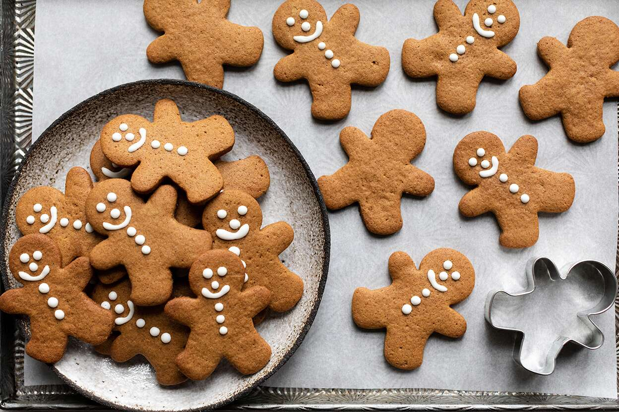 Gluten Free Roll Out Gingerbread Cookies King Arthur Baking