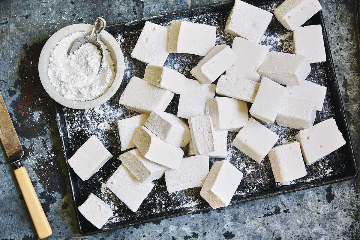 Whip up homemade marshmallows