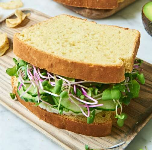 Gluten-Free Double Milk Sandwich Bread