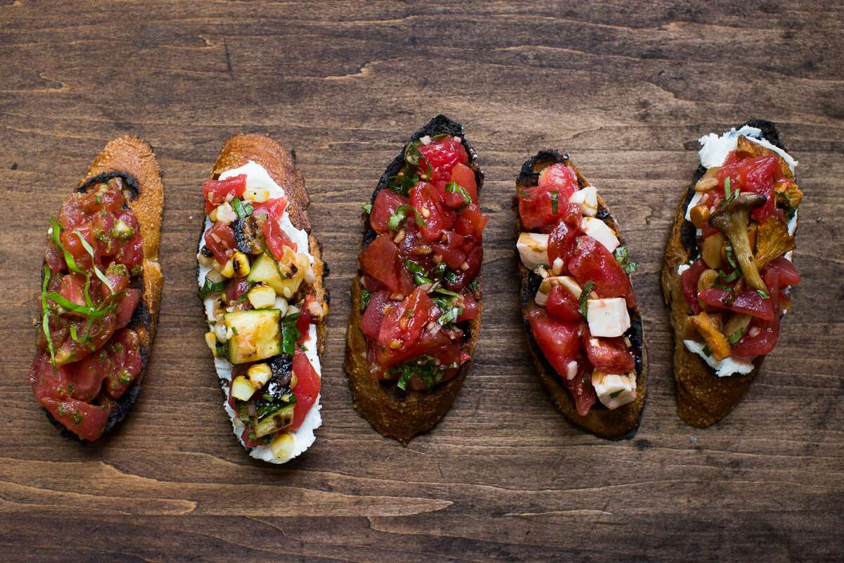 A better bruschetta via @kingarthurflour