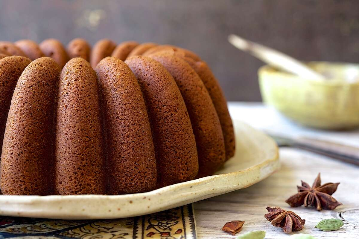 Chai-Spiced Bundt Cake via @kingarthurflour