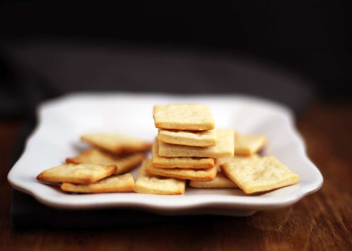 Homemade Crackers via @kingarthurflour