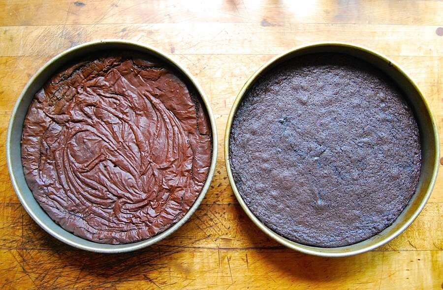 How to make brownies with shiny crust via @kingarthurflour