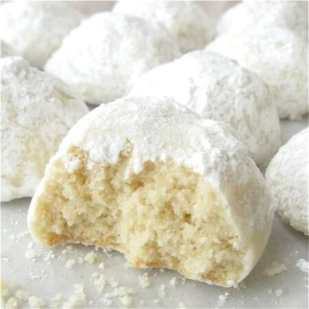 Italian Wedding Cookies.A Cookie By Any Other Name Mexican Wedding Cookies King Arthur