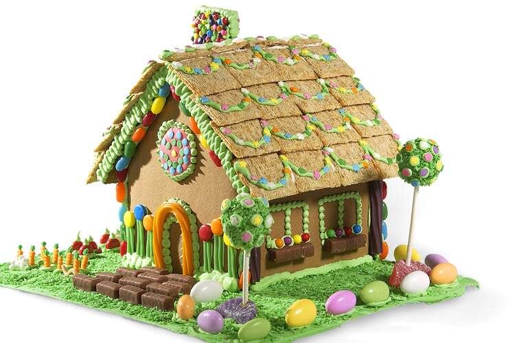 Christmas Gingerbread House Kit.Gingerbread Houses King Arthur Flour