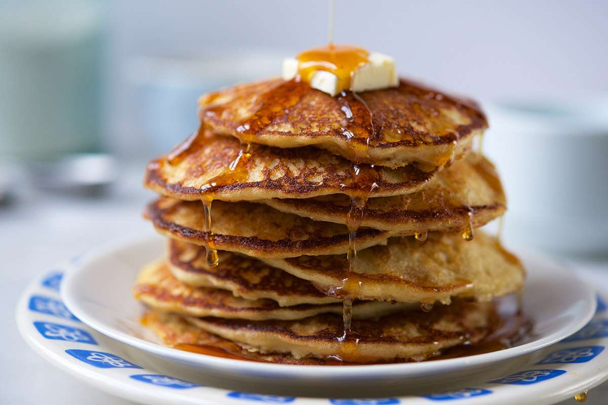 Whole Grain Pancake Mix via @kingarthurflour