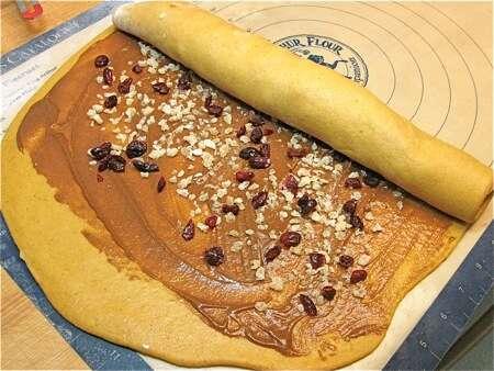 pumpkin cinnamon rolls | King Arthur Flour