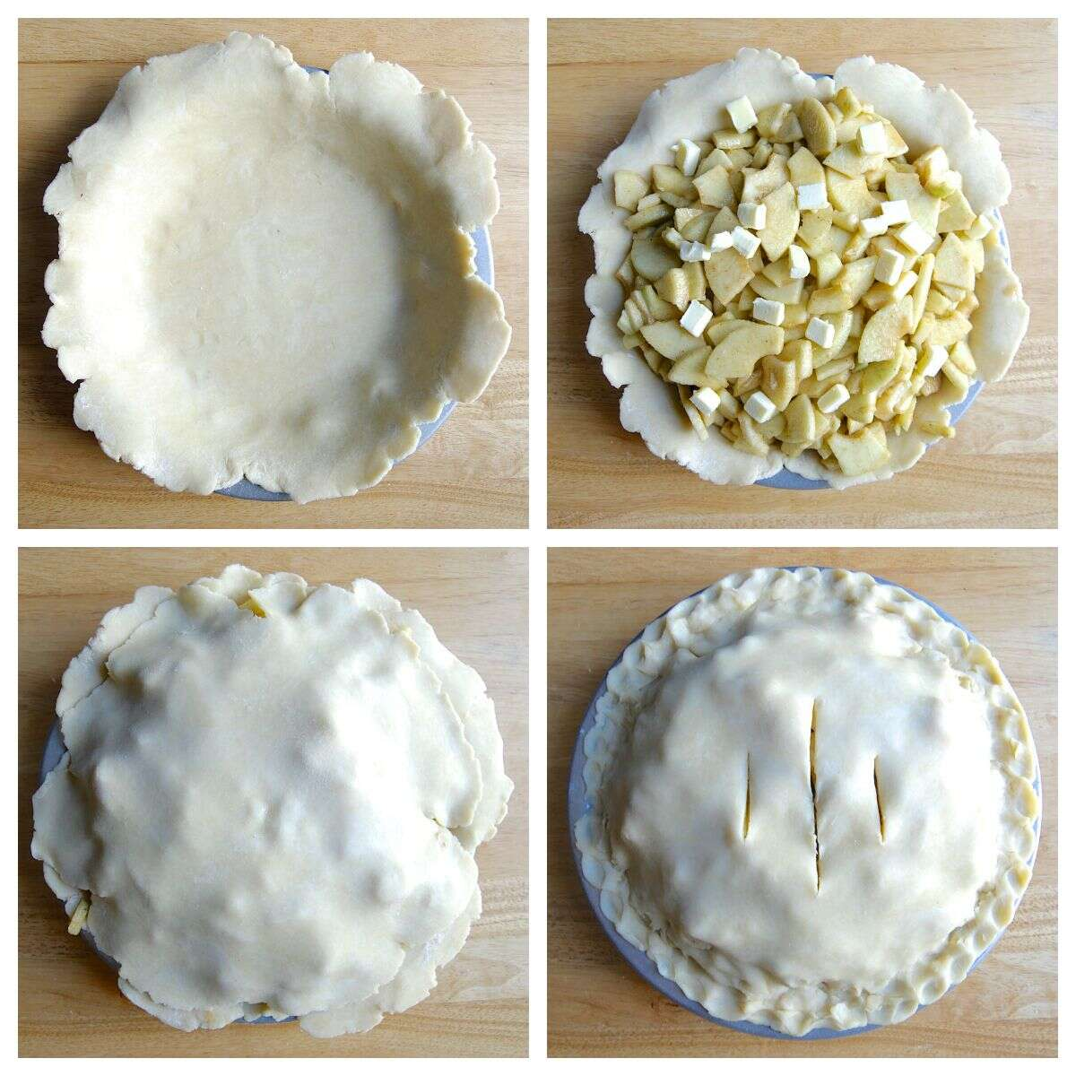 Freeze and Bake Fruit Pie-16