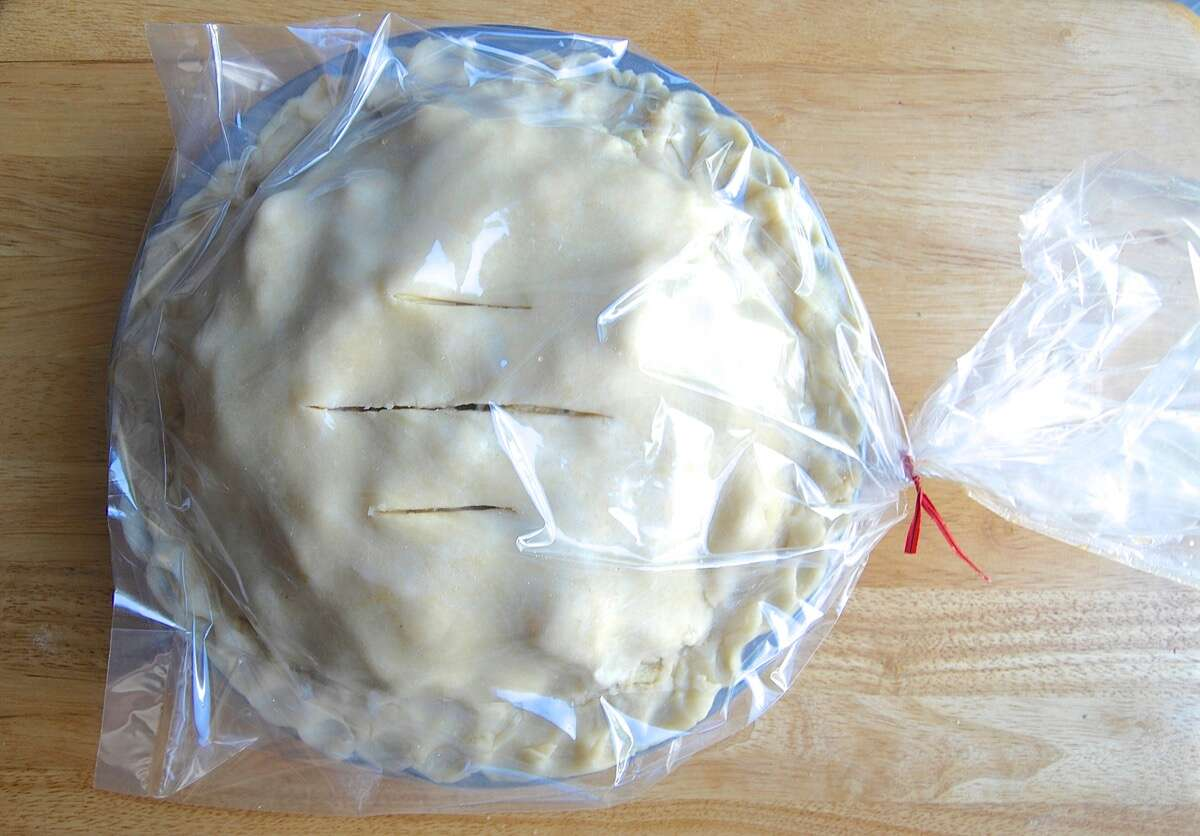 Freeze and Bake Fruit Pie-8