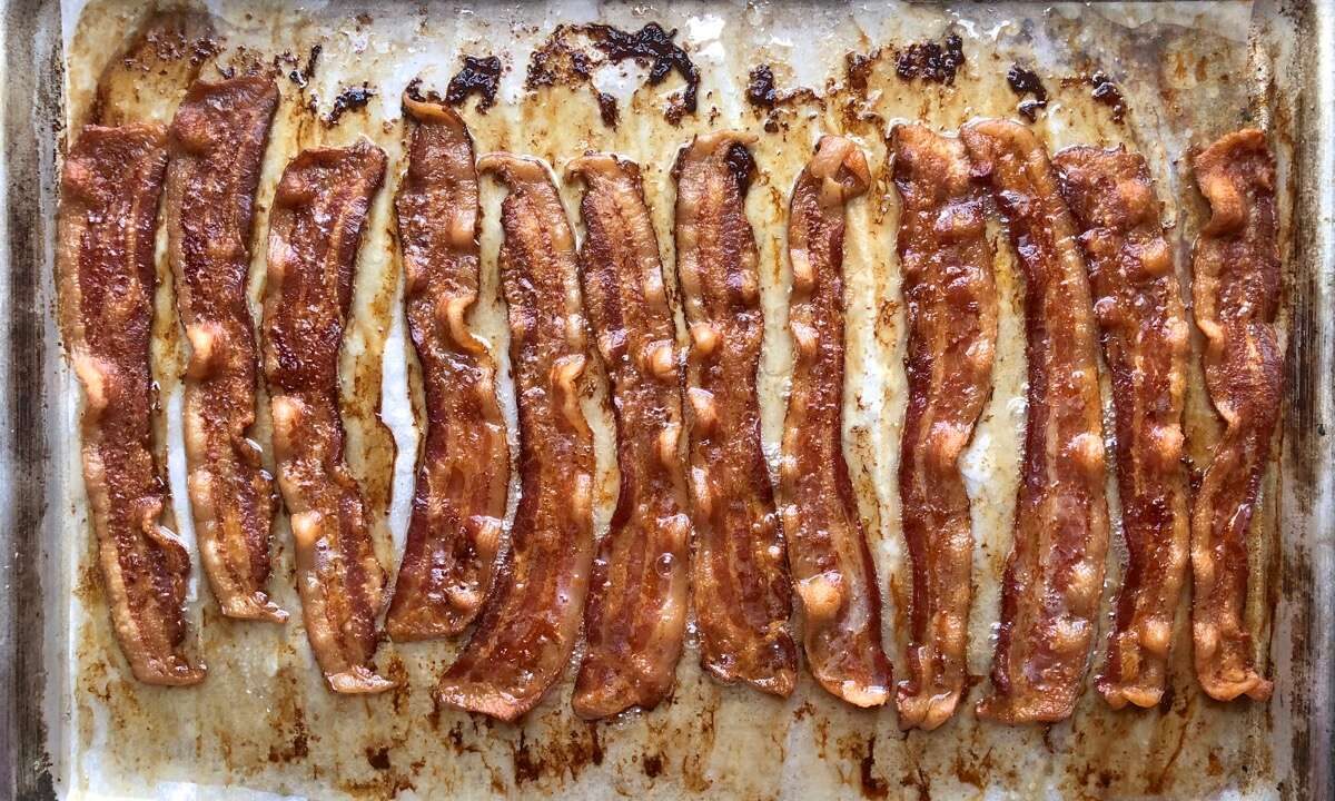 Bakin' the bacon via @kingarthurflour