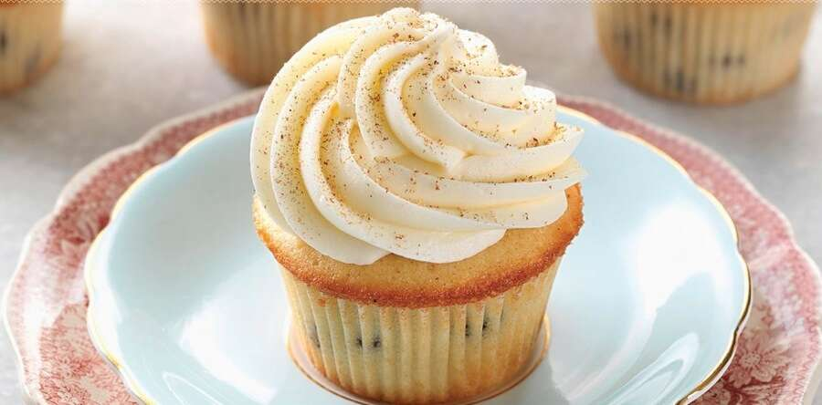 Rum Raisin Cupcakes Winter 2014