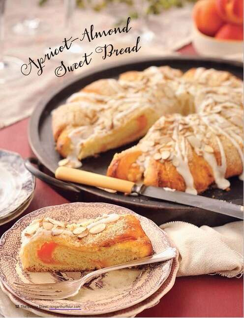 Apricot-Almond Sweet Bread, Holiday 2013