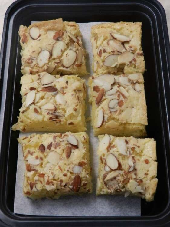 Scandinavian Blondies from the Cookie Companion, page page 191
