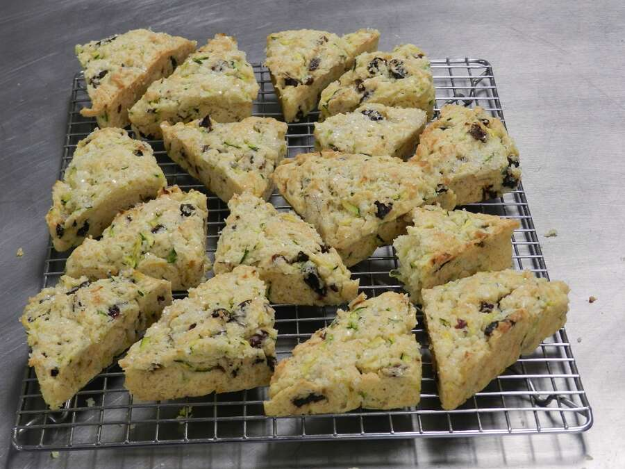 finished small scones