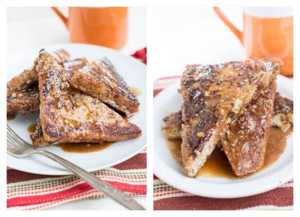 Gluten-Free French Toast with Peanut Butter Sauce