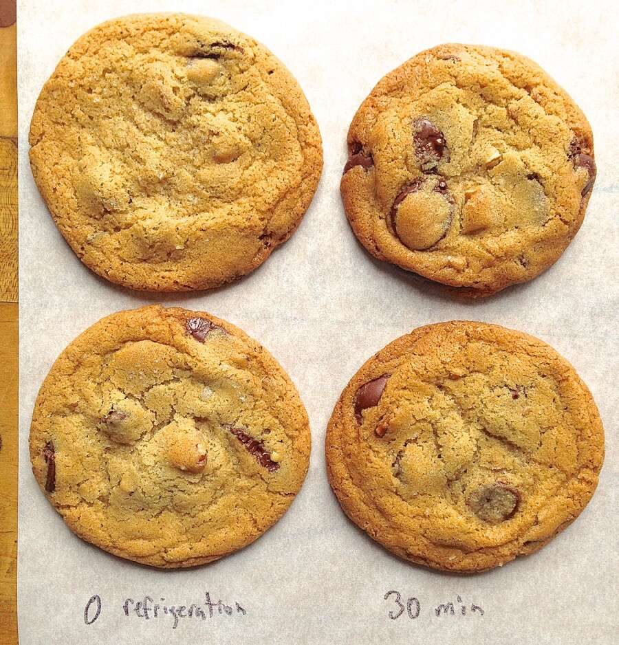 Test: chilling cookie dough @ via kingarthurflour