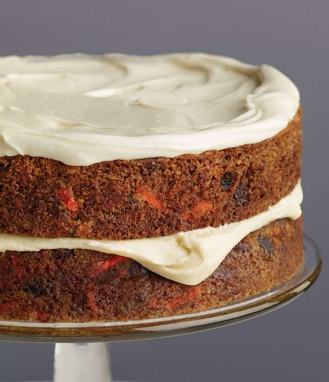 King Arthur's Carrot Cake via @kingarthurflour