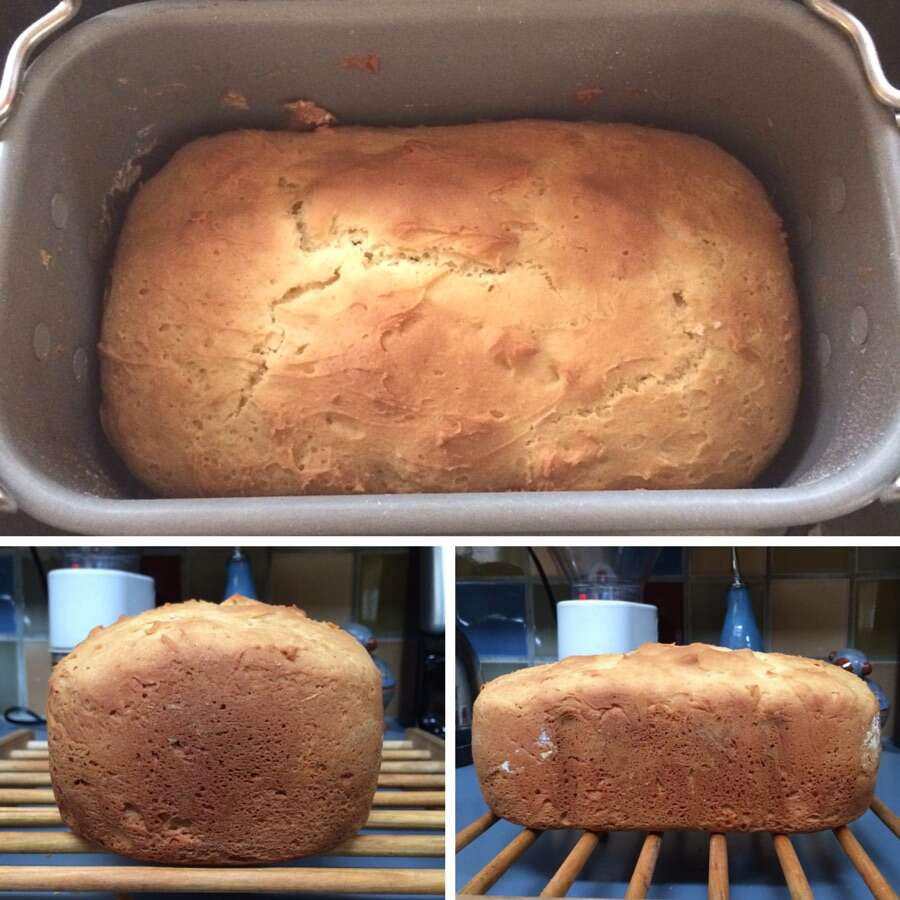 How to make Gluten-Free Bread in a Bread Machine via @kingarthurflour