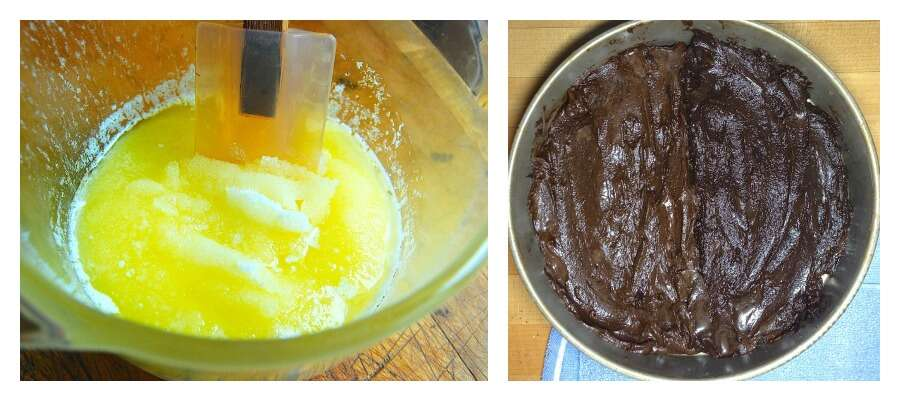 How to make brownies with a shiny crust - 10