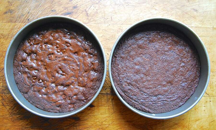 How to make brownies with a shiny crust - 7