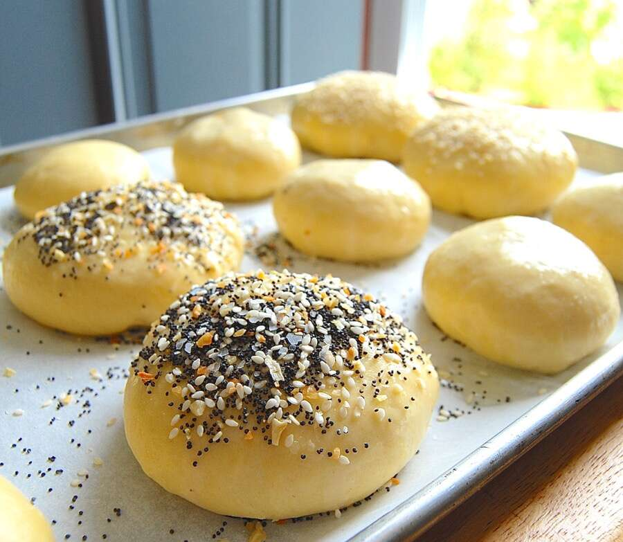 How to make brioche buns via @kingarthurflour