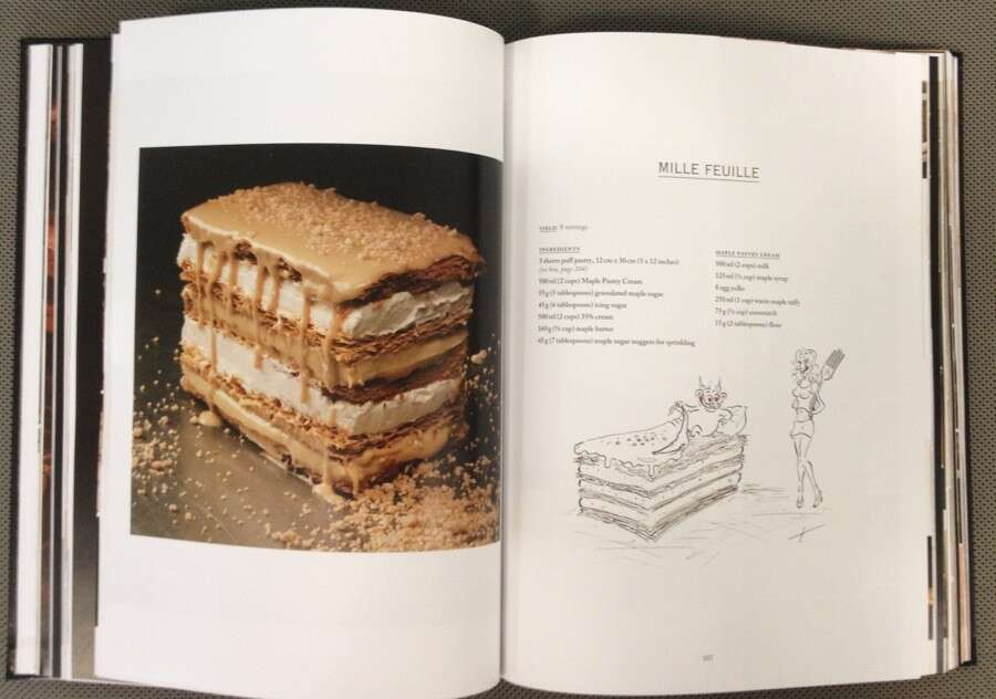 books for bakers Pied au cochon maple napoleon via@kingarthurflour.com