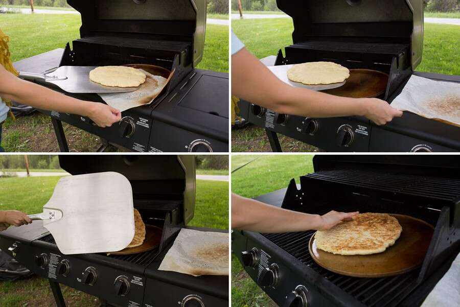 Tips for making grilled pizza via @kingarthurflour