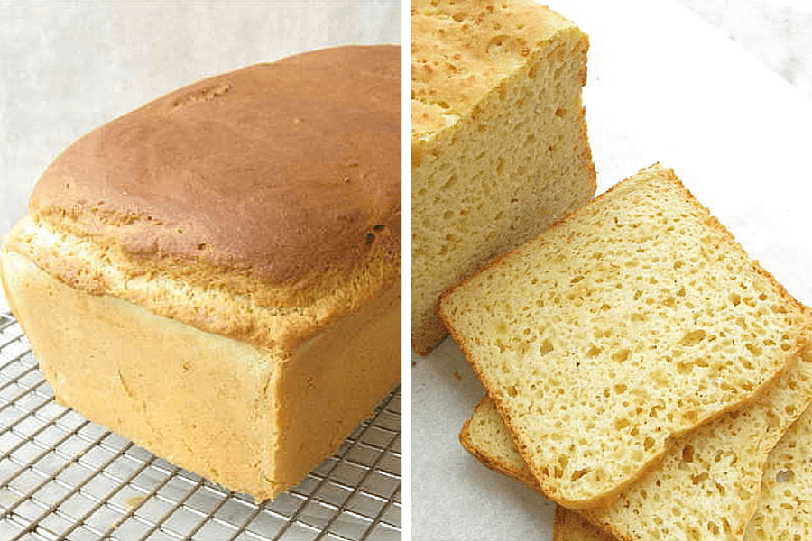 Gluten-Free Sandwich Bread via @kingarthurflour