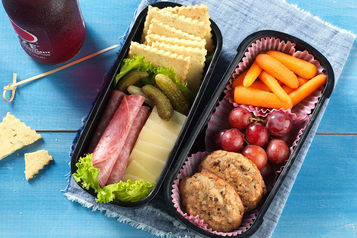 Lunch box bento via@kingarthurflour