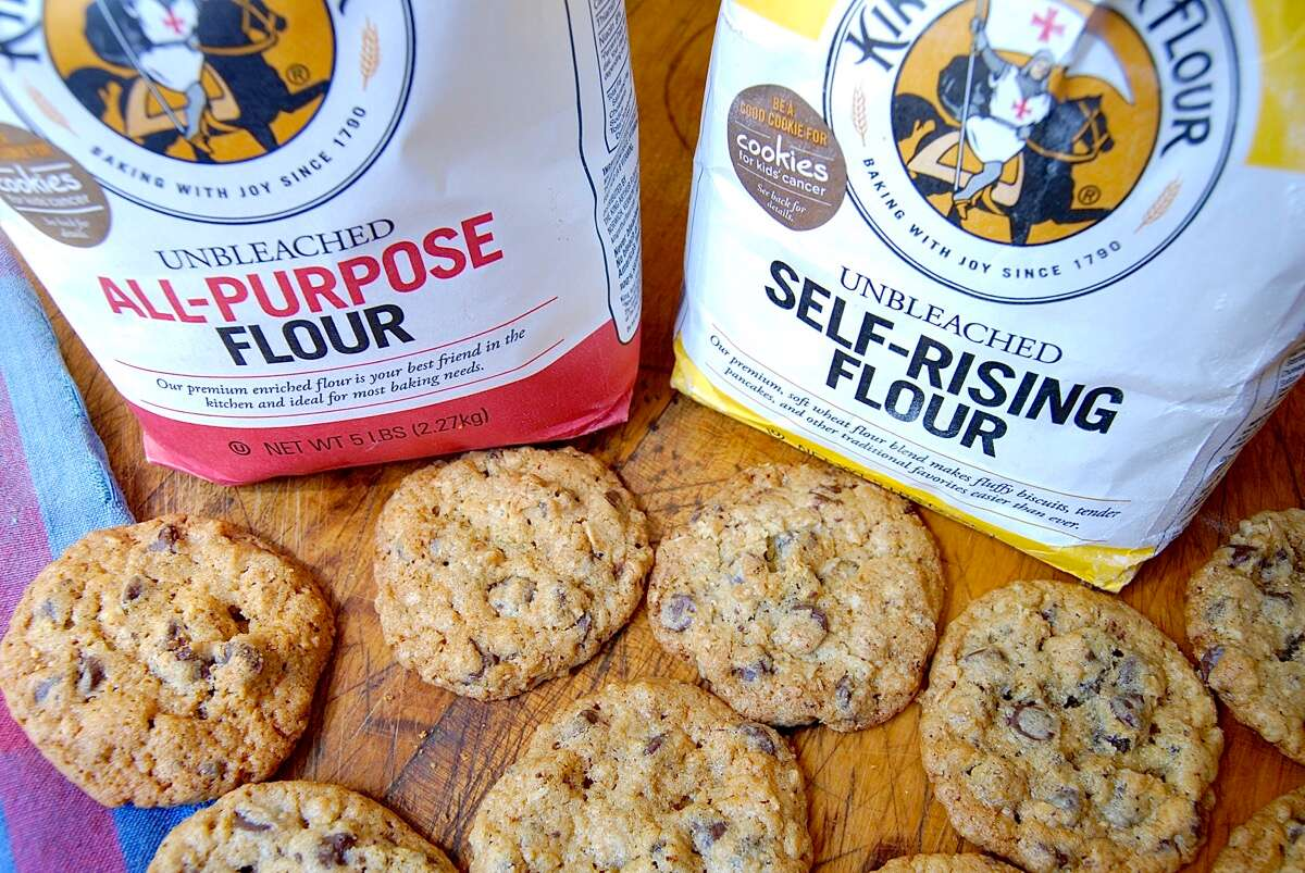 How to substitute self-rising flour for all-purpose flour via @kingarthurflour