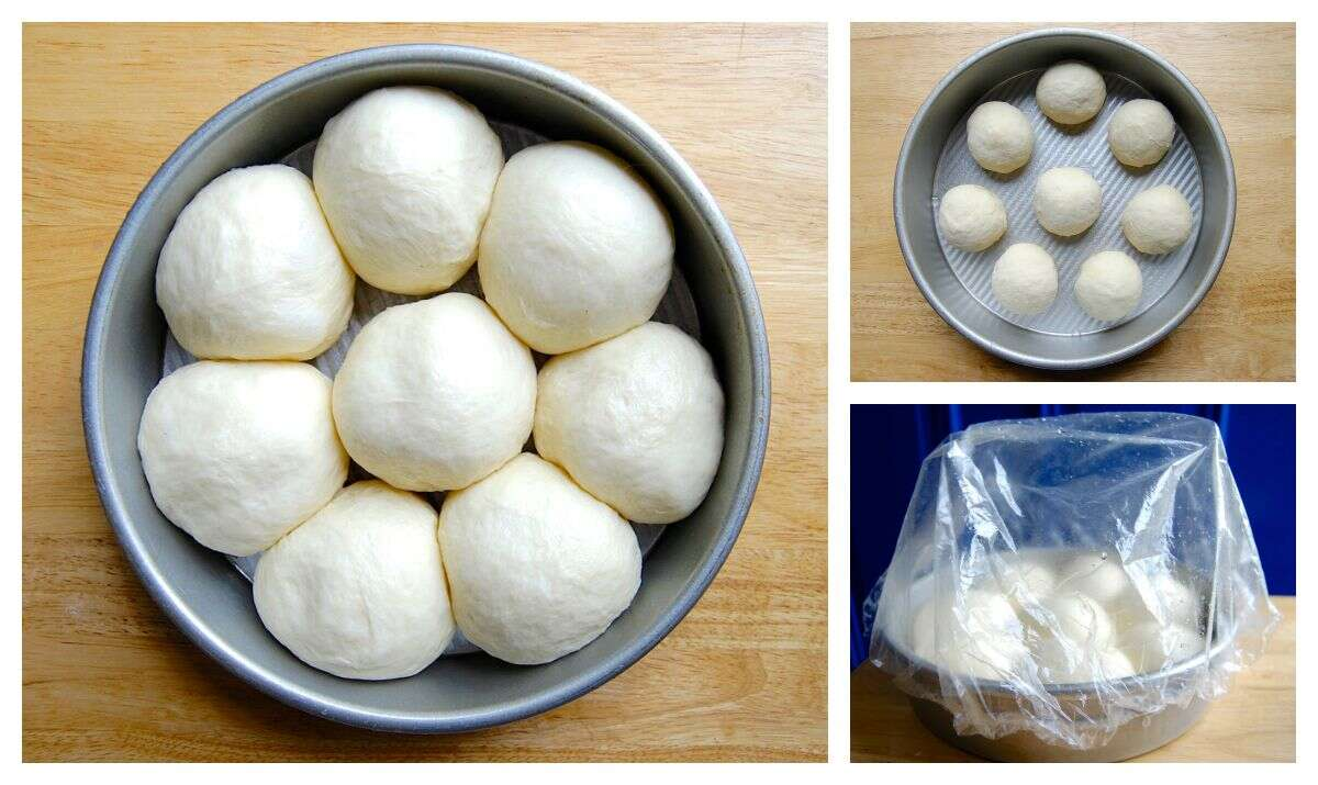 Freeze and Bake Rolls via @kingarthurflour