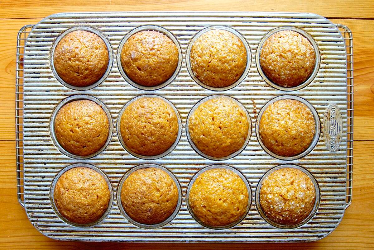 How to make muffins from a quick bread recipe via @kingarthurflour