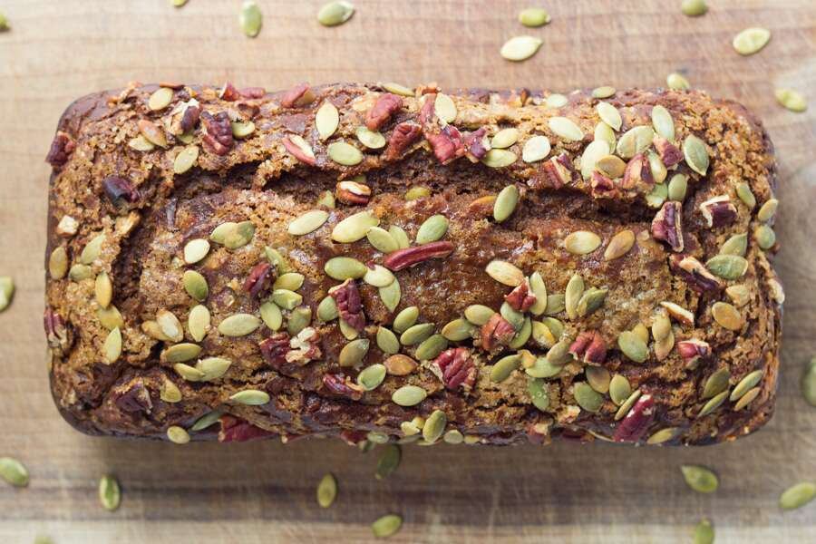 Gluten-Free Pumpkin Bread via @kingarthurflour