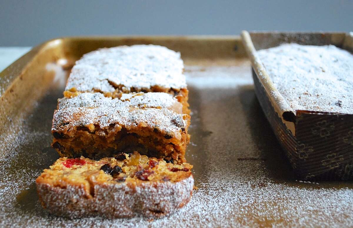 Favorite Fruitcake via @kingarthurflour