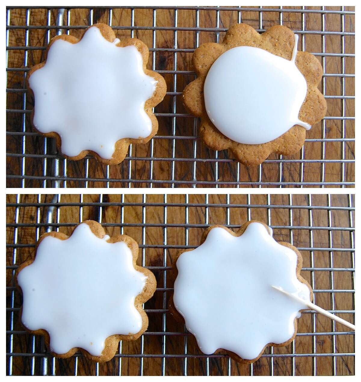 Simple cookie glaze via @kingarthurflour