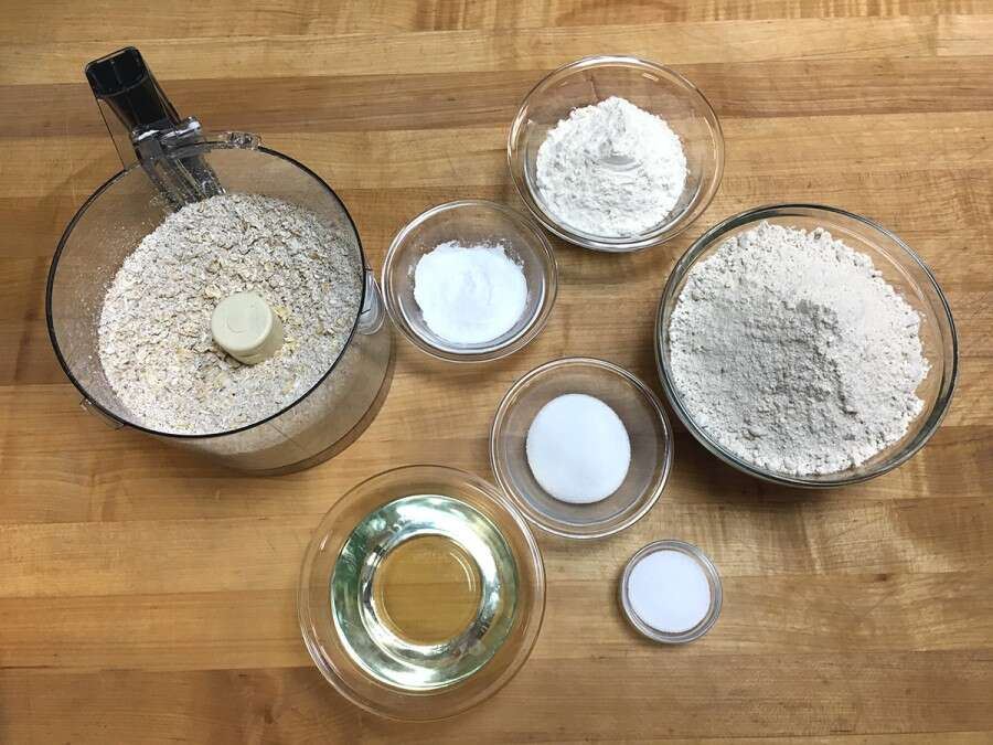How to make Whole Grain Pancake Mix via @kingarthurflour