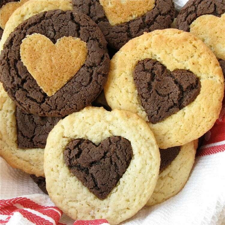 Valentine Hearts via @kingarthurflour