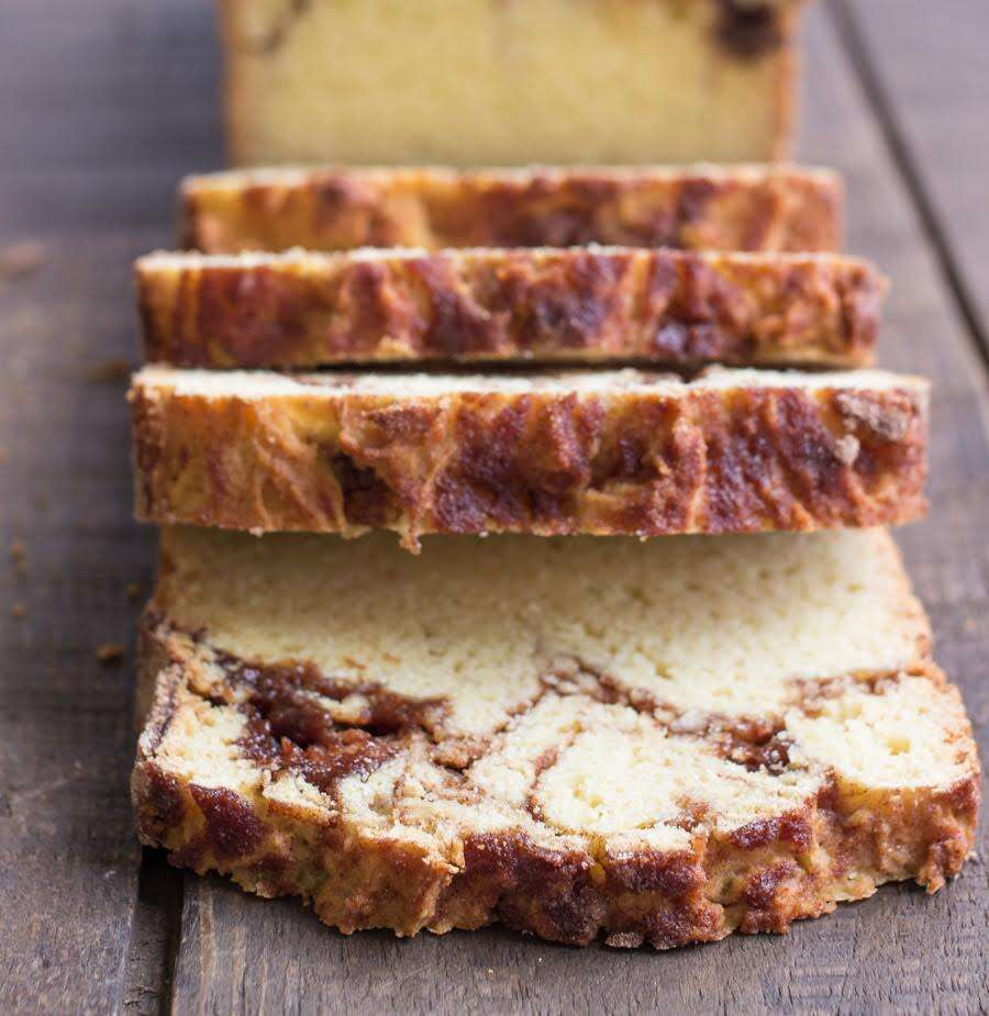 Gluten-Free Cinnamon Swirl Bread via @kingarthurflour