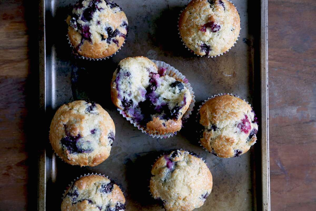 Basic muffins via @kingarthurflour