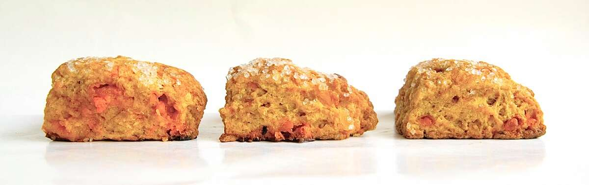 Freeze and bake scones via @kingarthurflour
