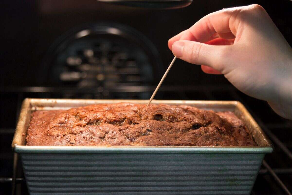 How to bake simple zucchini bread via @kingarthurflour