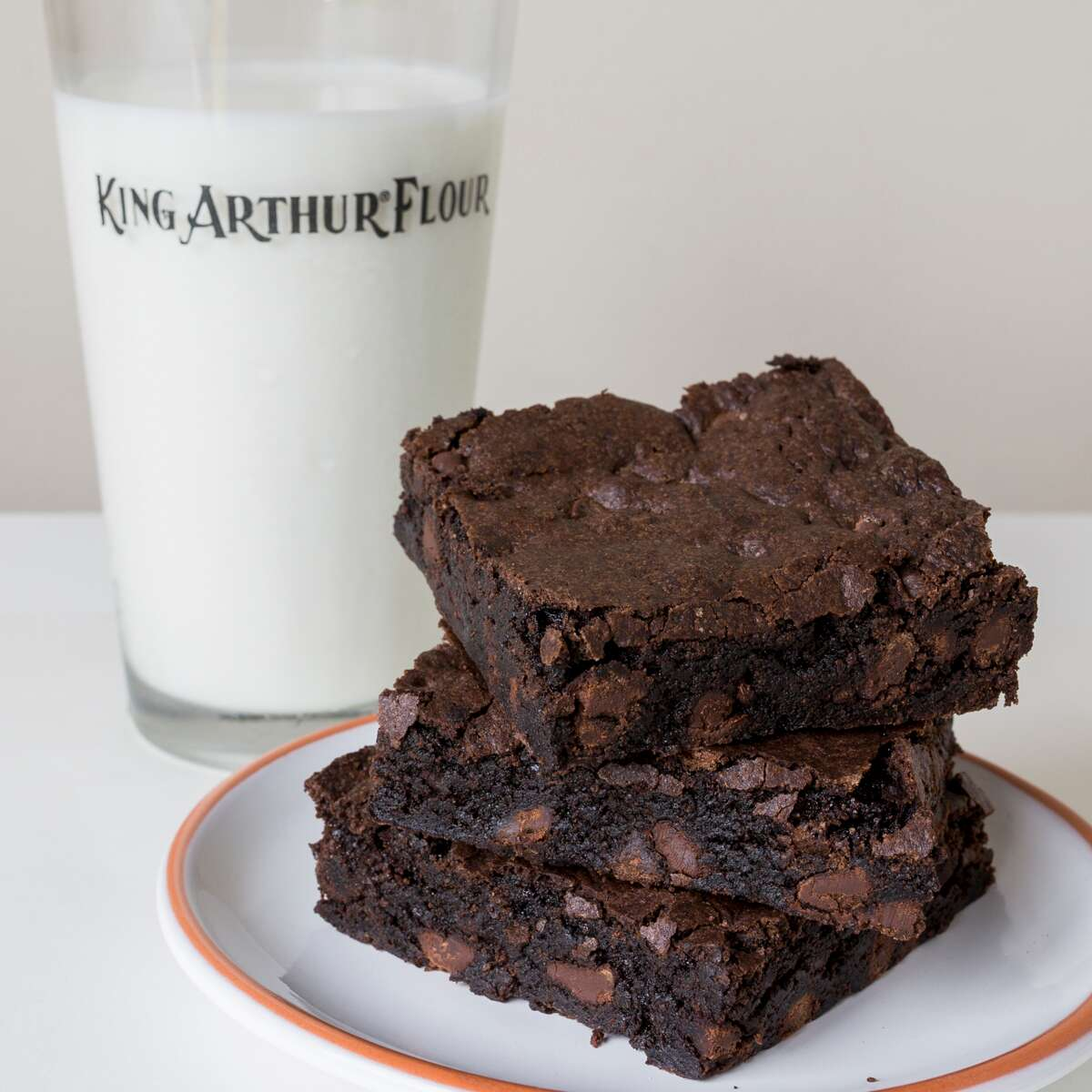 Make your absolute favorite brownie via @kingarthurflour